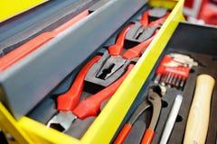 Werkzeuglaufkatze Stockbilder