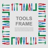 Werkzeugrahmen Lizenzfreies Stockbild