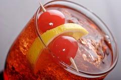 Wermut und Soda lizenzfreies stockfoto