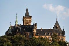 wernigerode замока Стоковое Изображение