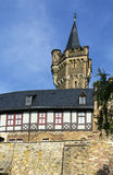 Wernigerode castle, Germany Royalty Free Stock Photo
