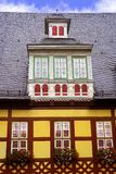 Wernigerode facades in Harz Germany Saxony Royalty Free Stock Photography