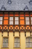 Wernigerode facades in Harz Germany Saxony Royalty Free Stock Image