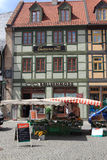 Wernigerode market place Stock Photo