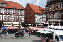 Wernigerode market place Stock Photos
