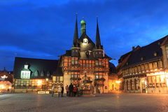 Wernigerode town hall Royalty Free Stock Photo