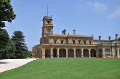 Werribee mansion Royalty Free Stock Images