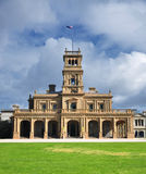Werribee mansion royalty free stock photo