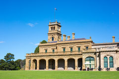 Werribee Mansion Gardens Royalty Free Stock Images
