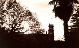 Werribee-Villa Lizenzfreie Stockbilder