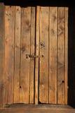 Werry stary drewniany drzwi Obrazy Stock