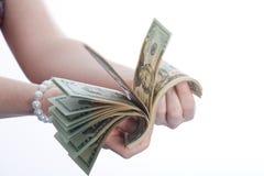 Wert des Dollars stockbild