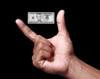 Wert des US-Dollar Fallens Lizenzfreie Stockfotografie