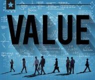 Wert-Respekt-Geld-Wirtschafts-Finanzkonzept Lizenzfreies Stockfoto