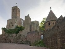 Wertheim Castle in Germany Royalty Free Stock Photos