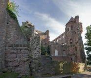 Wertheim Castle at summer time Stock Photo