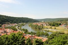 Wertheim am Main Germany Stock Photography