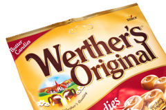 Werthers Original Butter Candies Royalty Free Stock Photo