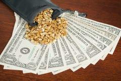 Wertvolles Gold Lizenzfreie Stockfotografie