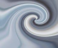 Wervelend chroom Stock Afbeelding