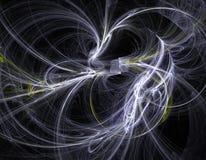 Wervelend fractal ontwerp vector illustratie
