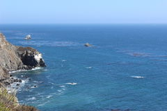 Wervelende blauwe oceaan Royalty-vrije Stock Fotografie
