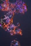 Wervelende gekleurde bellen Stock Foto
