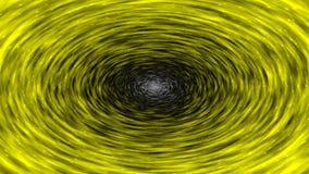 Wervelende hypnotic cirkelanimatie stock video