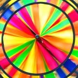 Wervelende regenboogcirkels Royalty-vrije Stock Afbeeldingen