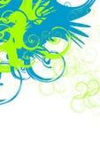 Werveling vector illustratie