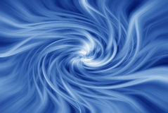 Werveling in blauw Vector Illustratie