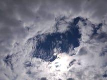 Werveling van wolk Royalty-vrije Stock Afbeeldingen