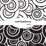 Wervelings naadloos patroon Stock Afbeeldingen