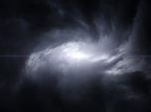Wervelwind in de Wolken Royalty-vrije Stock Foto