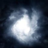 Wervelwind in de Wolken Royalty-vrije Stock Afbeeldingen