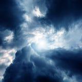 Wervelwind in de Wolken Royalty-vrije Stock Fotografie