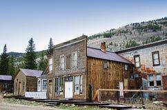 Werven van huizen waarin 20 jaar niet wordt gewoond in Royalty-vrije Stock Afbeeldingen