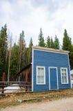 Werven van huizen waarin 20 jaar niet wordt gewoond in Stock Afbeelding