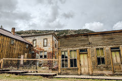 Werven van huizen waarin 20 jaar niet wordt gewoond in Royalty-vrije Stock Fotografie
