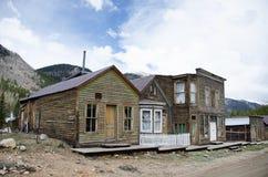 Werven van huizen waarin 20 jaar niet wordt gewoond in Royalty-vrije Stock Foto