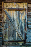 Wery old wooden door Royalty Free Stock Image