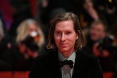 Wes Άντερσον στο κόκκινο χαλί σε Berlinale 2018 στοκ φωτογραφία με δικαίωμα ελεύθερης χρήσης