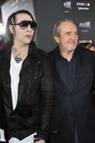 Wes Craven,Marilyn Manson Stock Images