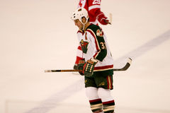 Wes Walz Of The Minnesota Wild Stock Images