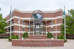 Wes Watkins Center all'università di Stato di Oklahoma Fotografia Stock Libera da Diritti