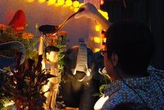 wesak празднества Стоковая Фотография