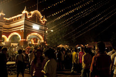 Wesak Day at Buddhist Maha Vihara Temple Stock Photos