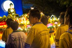 Wesak Day Celebration Stock Photography