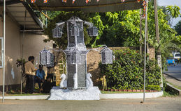 Wesak in Sri Lanka Royalty-vrije Stock Fotografie