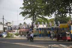 Wesak in Sri Lanka Royalty-vrije Stock Foto's